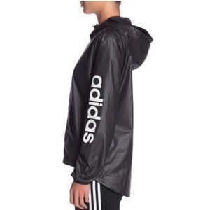 {Adidas} Zip-Up Hooded Windbreaker